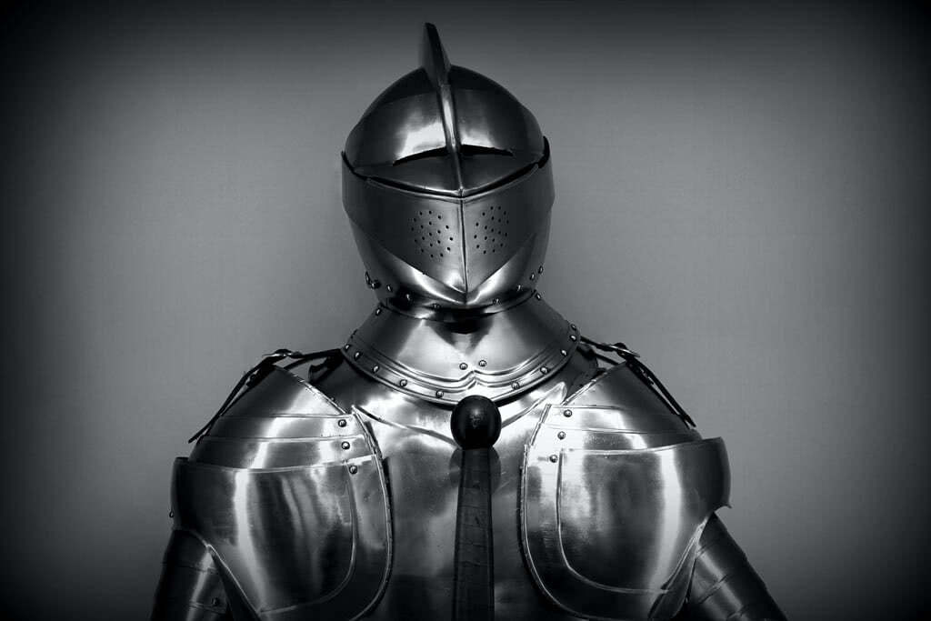 armor, medieval armor, defense to heat, protection